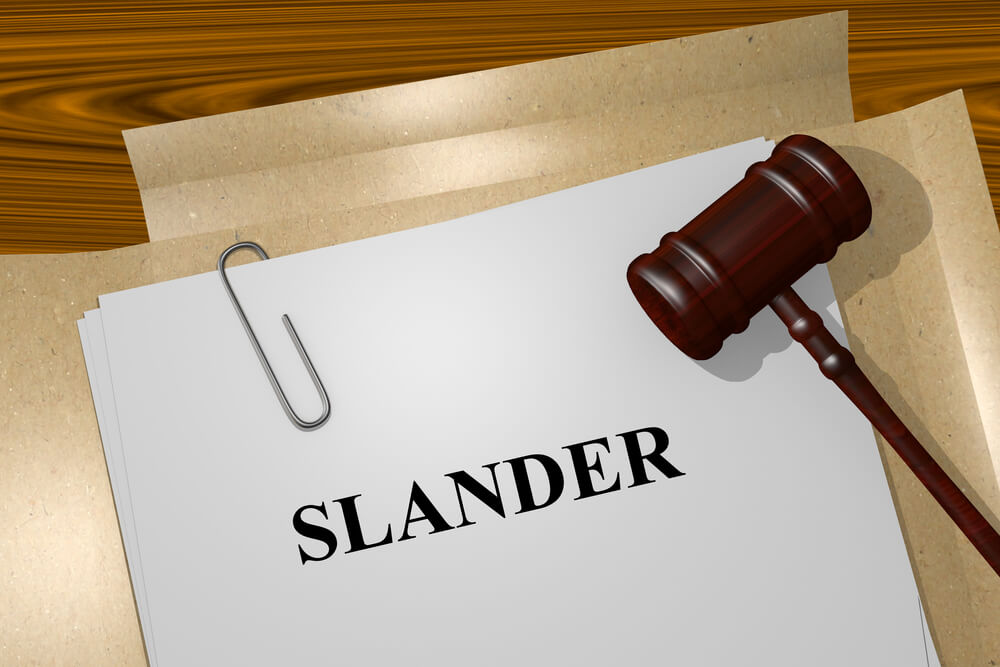 SLANDER - הוצאת דיבה
